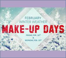February Snow Make-Up Days