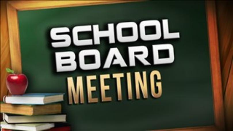 School Board Meeting Monday, Feb. 26th