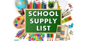FGMS 2018-19 School Supply Lists
