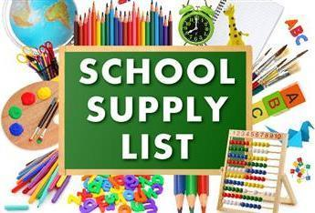 School Supply Lists & Upcoming Important Dates