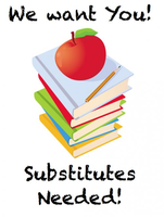 Substitutes Needed at FG School District