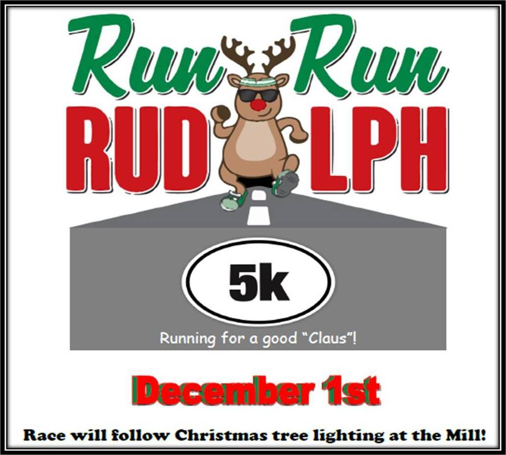 Run Run Rudolph 5K Sat., Dec 1st