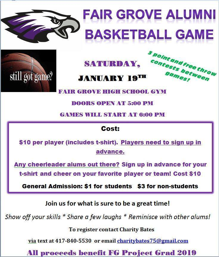 FG Alumni Basketball Game