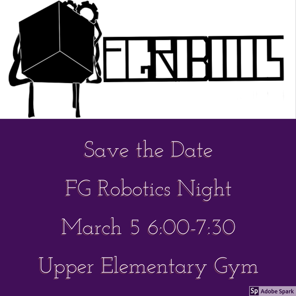 Robotic Night March 5th