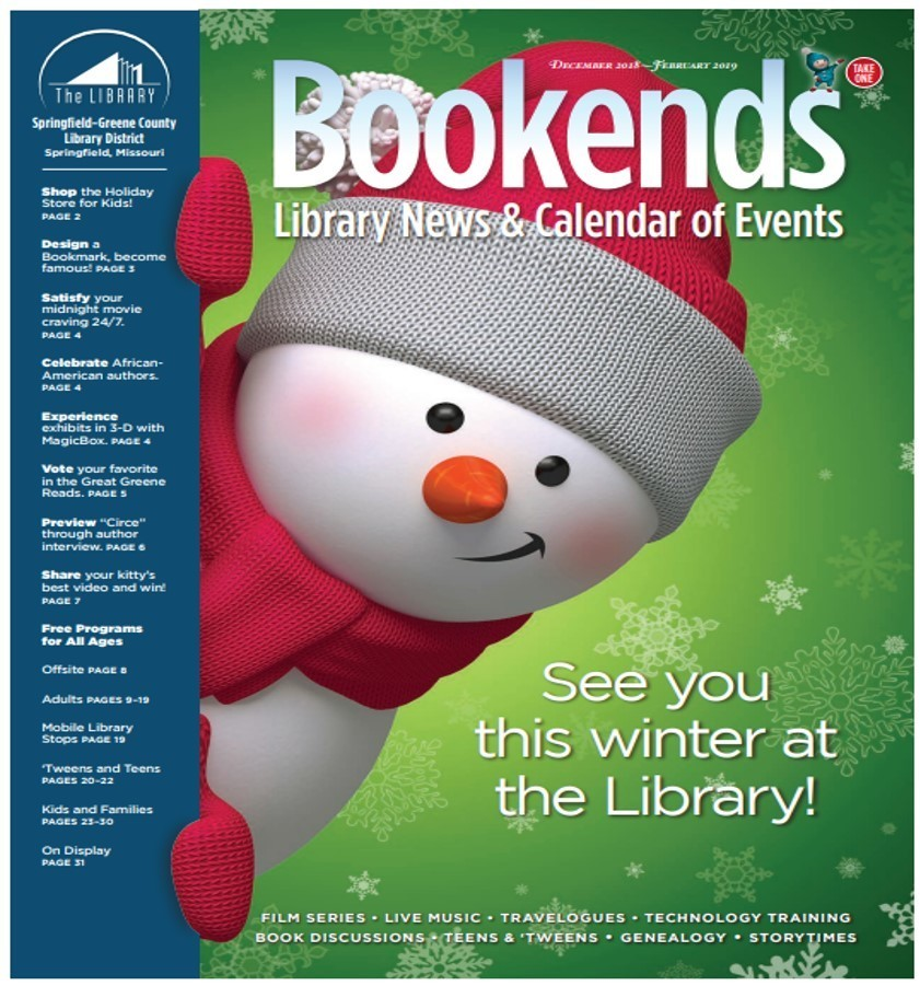 Fair Grove Branch Library Dec-Jan Programs