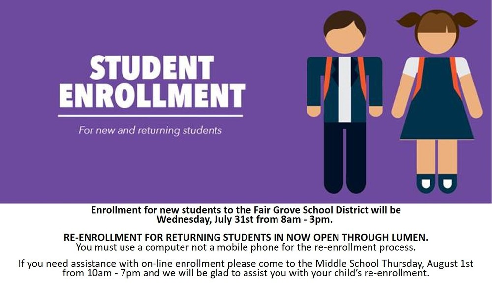 Enrollment Reminder