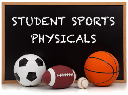 Student Sports Physical Information