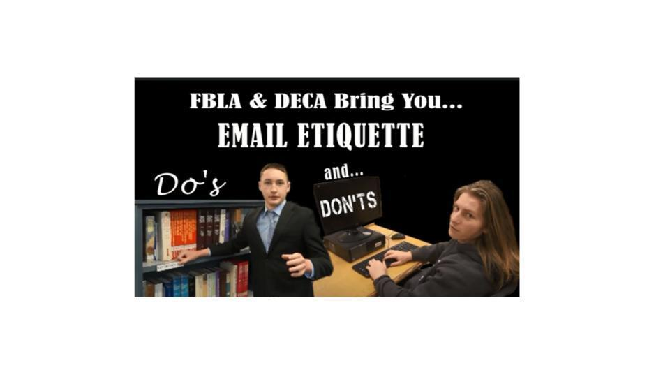 FGHS Student Email Etiquette Competition