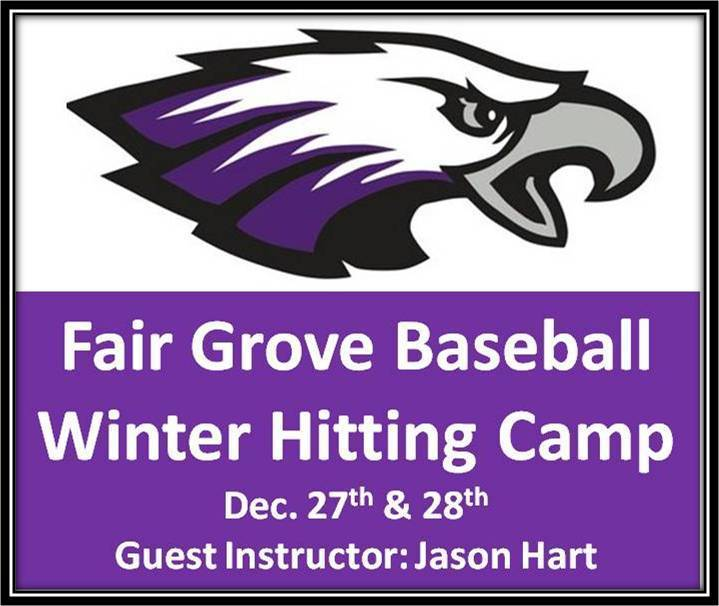 FG Baseball Winter Hitting Camp for 4th-12th Grade Students