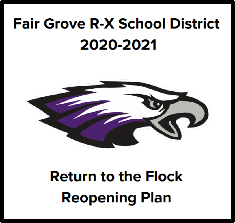 Fair Grove R-X School District 2020-2021 Reopening Plan