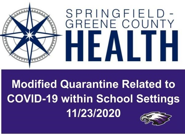 Health Department to allow strict modified quarantine exclusively in educational setting