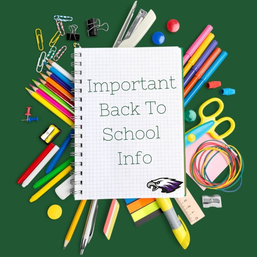 Important Back to School Registration Info