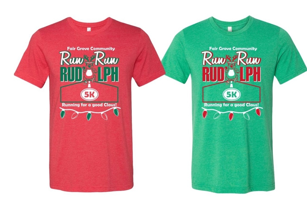 Run Run Rudolph T-Shirt Orders