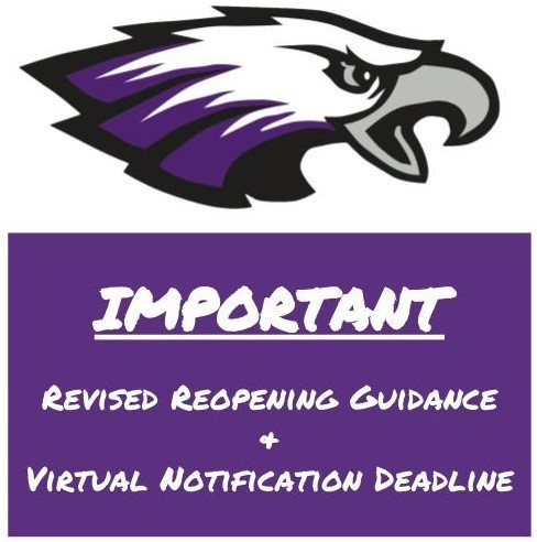Updated Guidance & 2nd Semester Virtual Notification Deadline