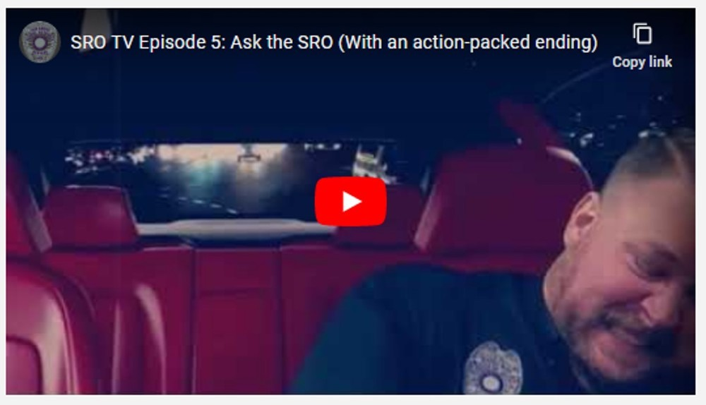 SRO TV Episode 5: Ask the SRO (With an action-packed ending)