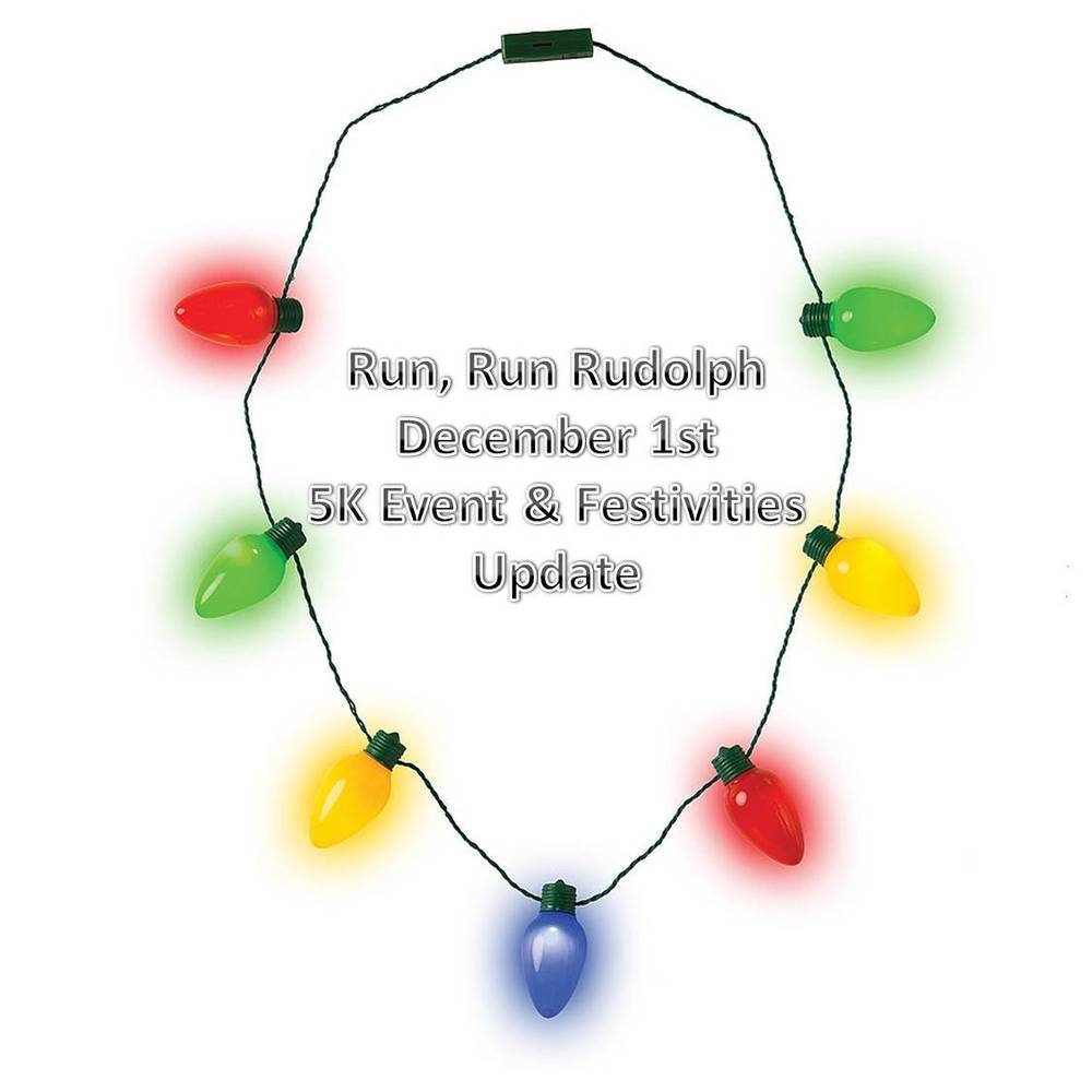 Run Run Rudolph 5K Festivities Update