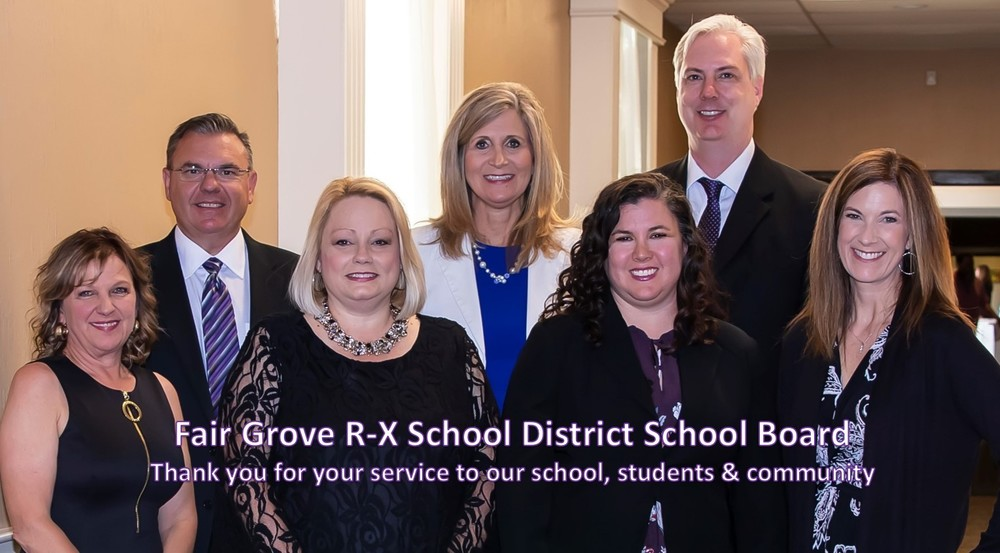 Thank You to Our FG School District Board of Education