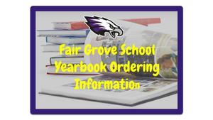 FGS Yearbook Ordering Information
