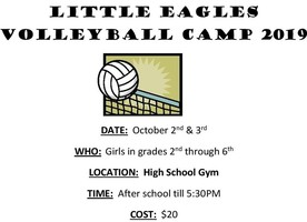 Little Eagles Volleyball Camp