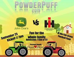 PowderPuff Pep Rally Tonight at 7pm