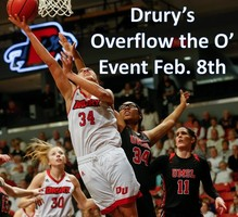 Drury's Overflow the O' Feb. 8th - Free event