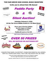 Music Boosters Paddle Party Feb. 8th