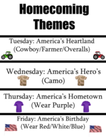 Homecoming Week Festivities