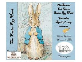 Easter Egg Hunt at the Mill on April 13th