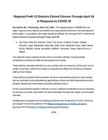 News Release from Schools in the Springfield Region