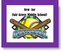 Fair Grove 7th & 8th Grade Softball Information