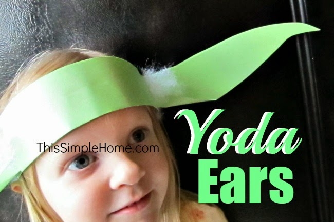 Yoda Ears & Light Sabers