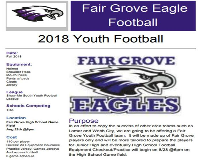 FG Youth Football 2018