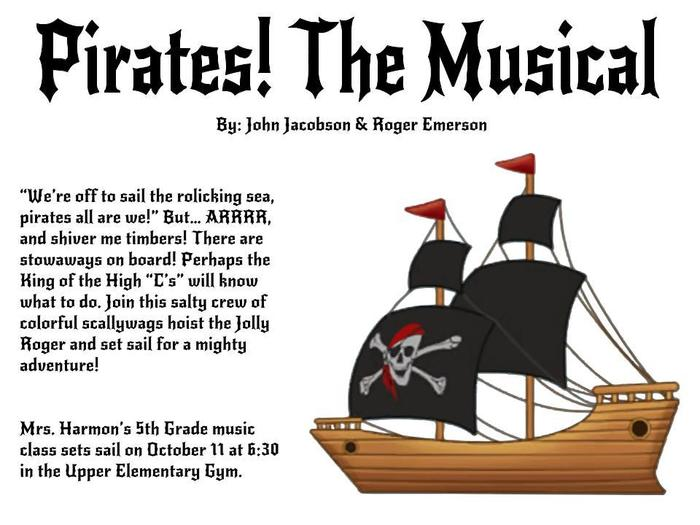 pirate musical