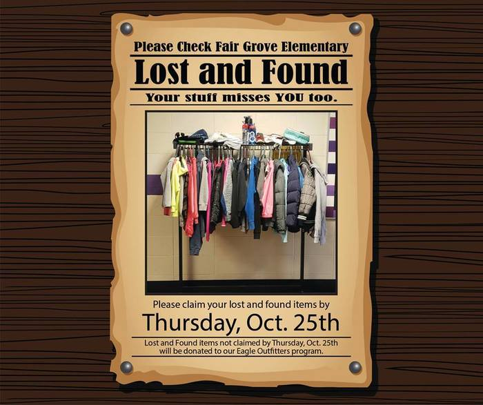 FGE Lost & Found Fall 2018