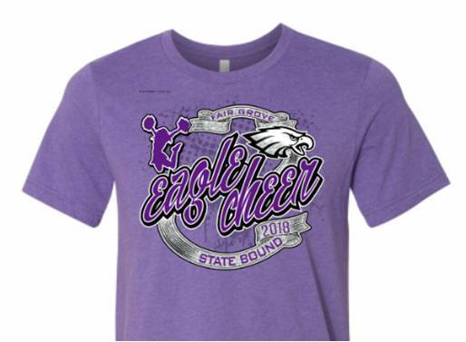 Cheer State Bound Shirt