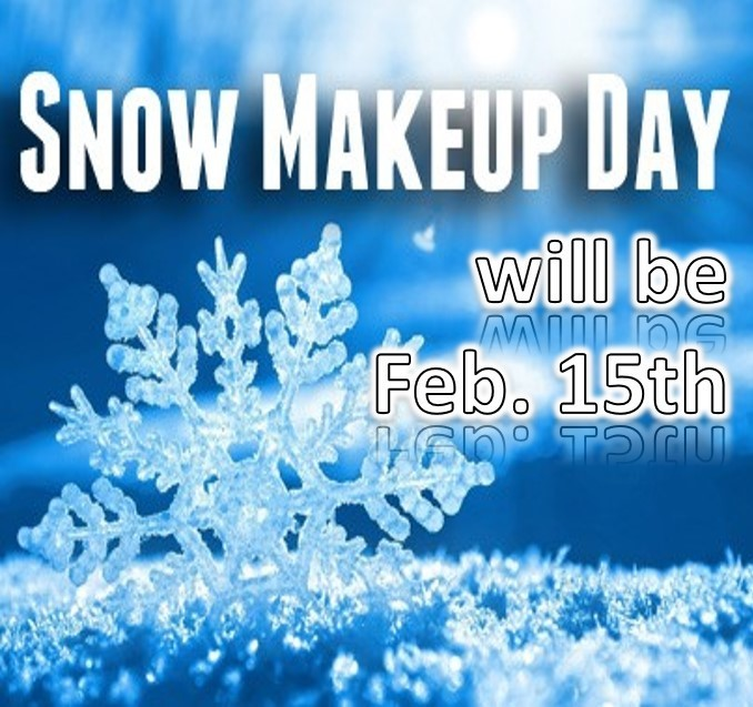 Makeup Day Feb 15th