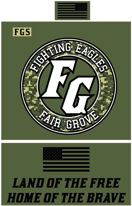 Military Night T-shirt Design