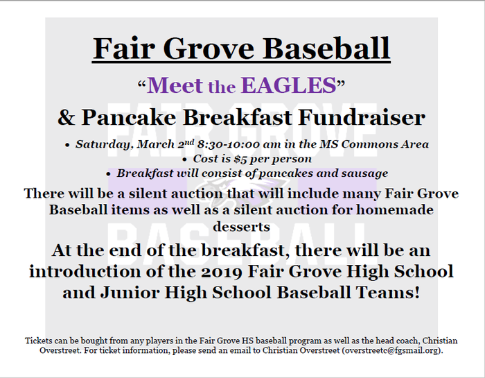 Baseball and pancakes 2019