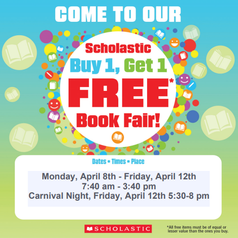 FG Elementary Library BOGO Book Fair