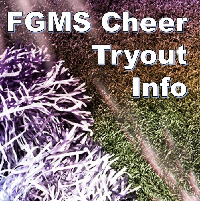 FGMS Cheer Tryout Info