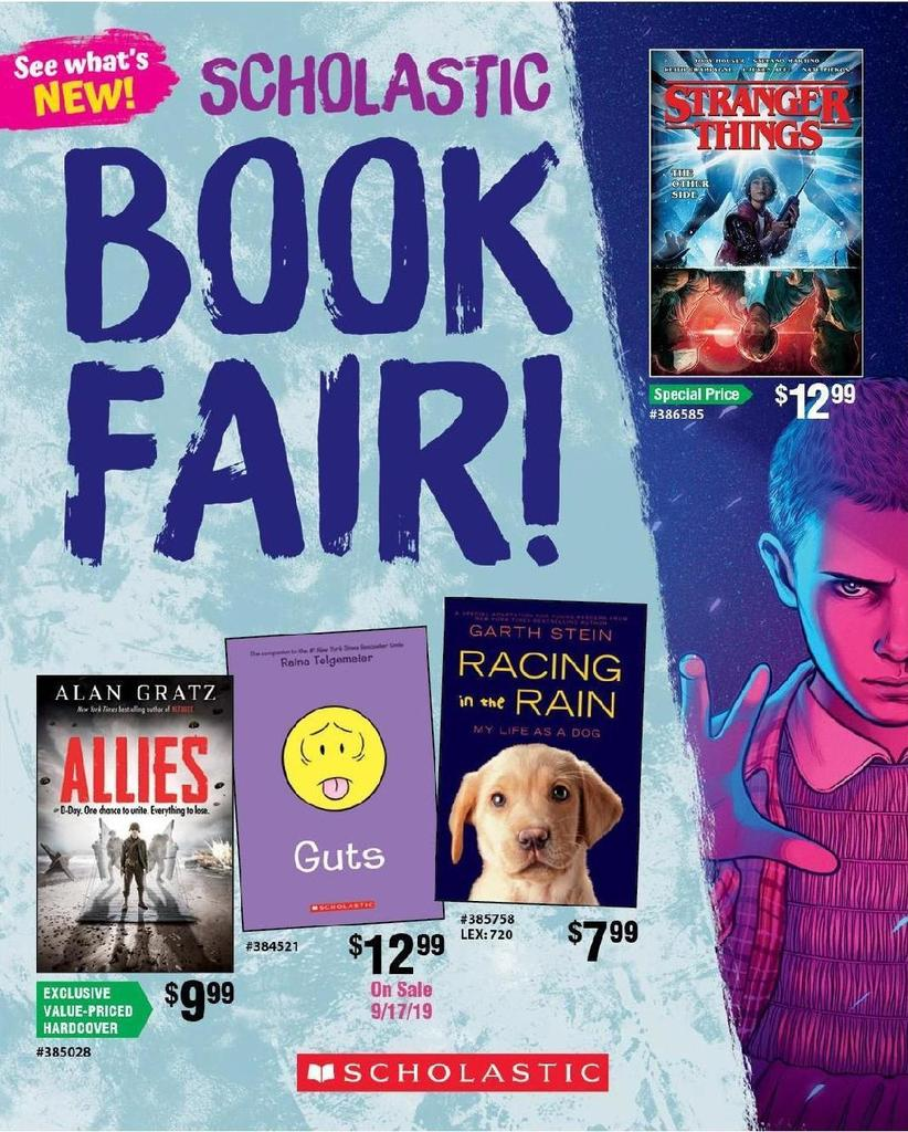 Book Fair Flyer Image