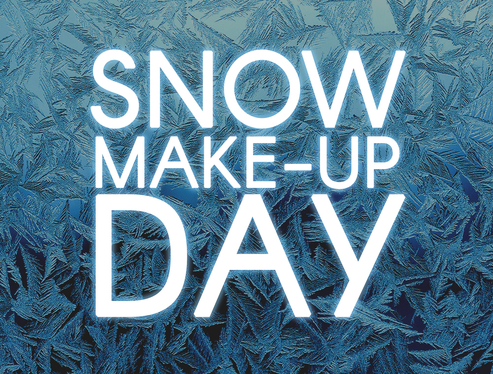 snow makeup day