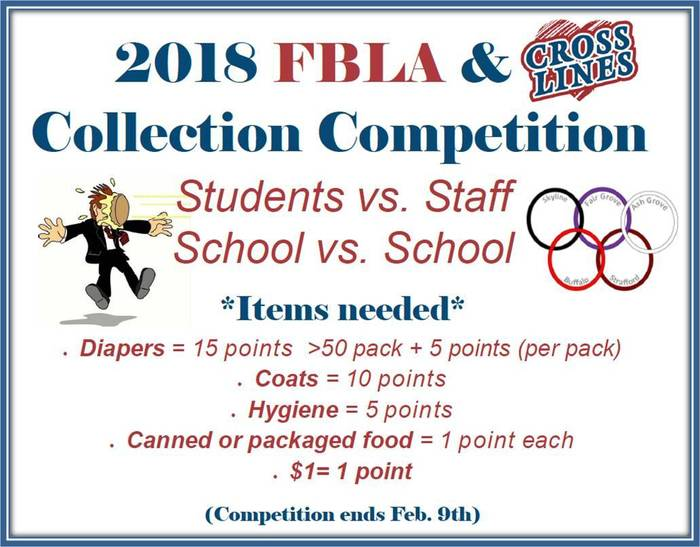 FG FBLA Collection Competition