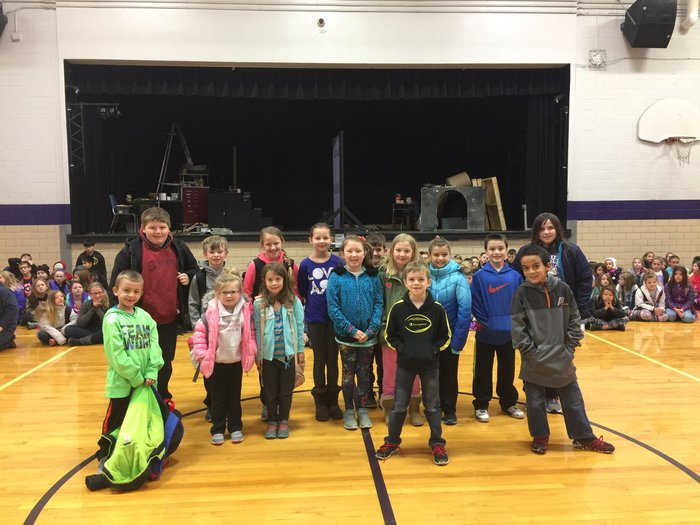 January's Positive Behavior Recognition