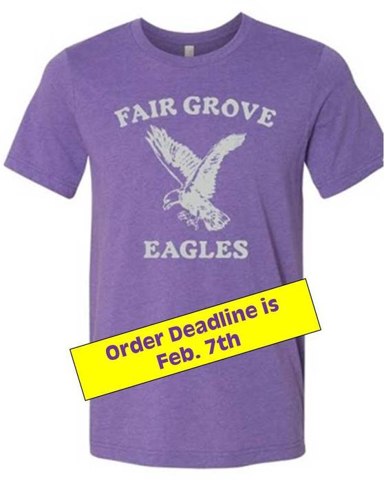 Throwback T-shirt with Feb 7th deadline